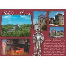 Schloss Burg - Chronik - Ansichtskarte