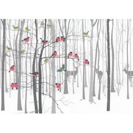 Im Winterwald - Weihnachtskarte