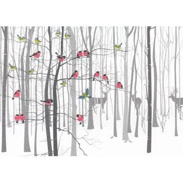 Winter Wood - Postcard
