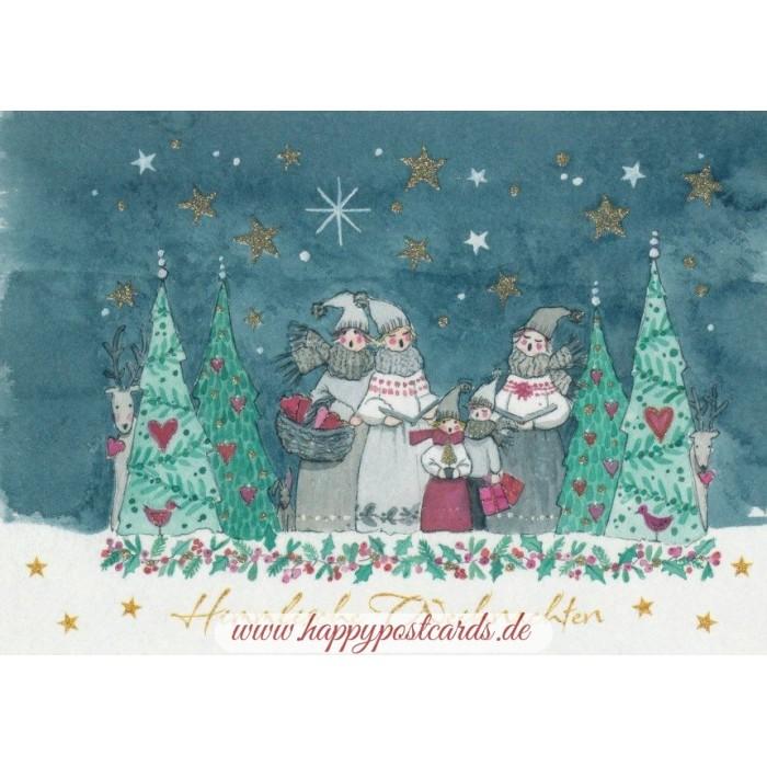 POSTKARTEN | Weihnachtskarten | Himmlische Weihnachten ...