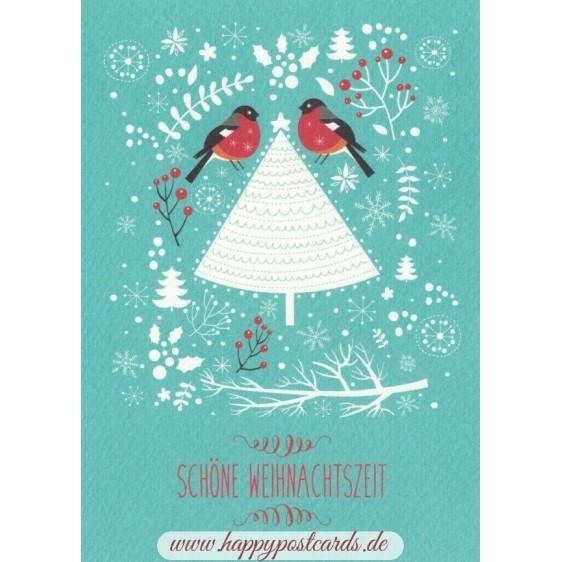 Lovely Christmas time - Postcard