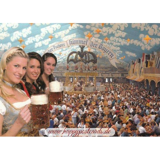 München Oktoberfest - Viewcard