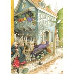 35 - Frauen im Herbst - Postkarte