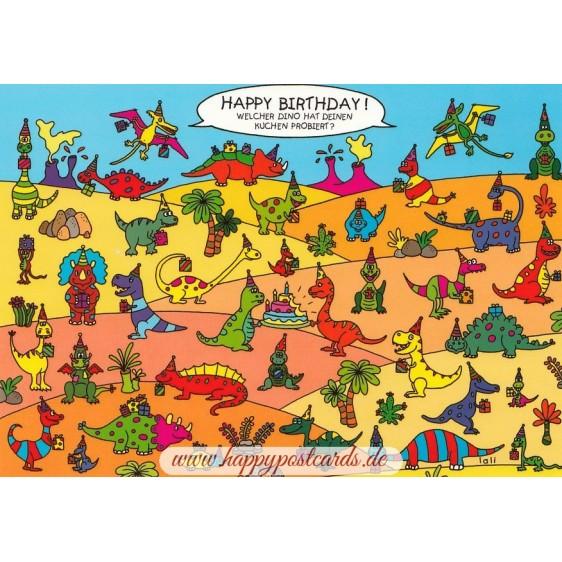Welcher Dino hat Deinen Kuchen probiert?