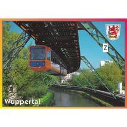 Wuppertal Suspension Railway - Viewcard