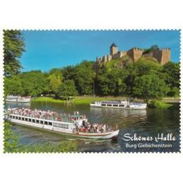 Halle - Castle Giebichenstein - Viewcard