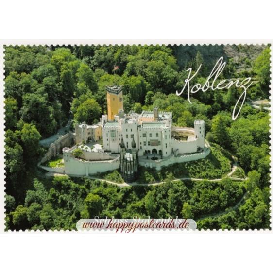 Koblenz - Schloss Stolzenfels - Ansichtskarte